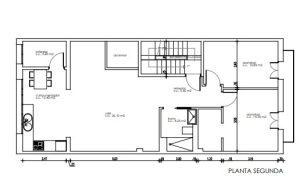 plano piso en manresa